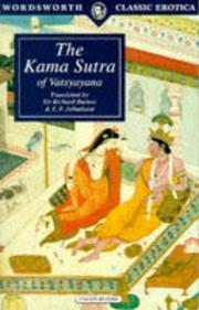 Cover of: Kama Sutra (Wordsworth Classic) (Wordsworth Classic Erotica) | VДЃtsyДЃyana