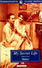 Cover of: My Secret Life-Volume III | Walter