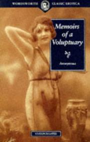 Cover of: Memoirs of a Voluptuary | Anonymous