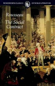 Cover of: The Social Contract | Jean-Jacques Rousseau