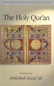 Cover of: The Holy Qur'an | Abdullah Yusuf Ali