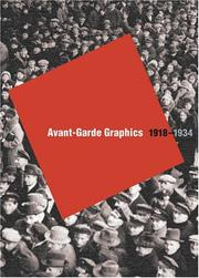 Cover of: Avant-Garde Graphics | Lutz Becker
