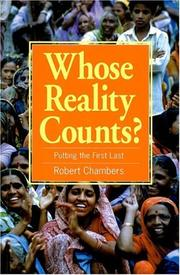 Cover of: Whose Reality Counts? | Robert Chambers