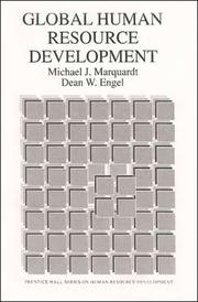 Cover of: Global human resource development