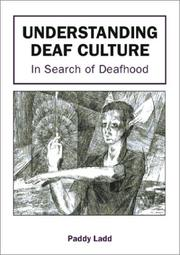 Cover of: Understanding Deaf Culture | Paddy Ladd