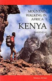 Cover of: Mountain Walking in Africa