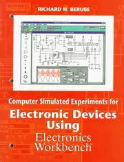 Cover of: Computer Simulated Experiments for Electronics Devices Using Electronics Workbench