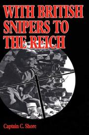 Cover of: With British snipers to the Reich | C. Shore