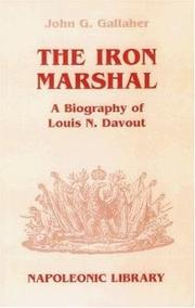 Cover of: The iron marshal