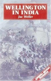 Cover of: Wellington in India