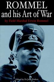Cover of: Rommel and his art of war