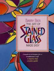 Cover of: The art of stained glass made easy