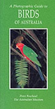 Cover of: Photographic Guide to Birds of Australia (Photoguides) | Peter Rowland
