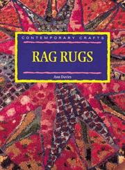 Cover of: Contemporary Crarts: Rag Rugs (Contemporary Crafts)