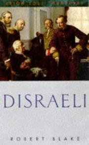 Cover of: Disraeli (Lost Treasures Series) | Robert Blake