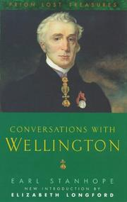 Cover of: Conversations with Wellington | Earl Stanhope