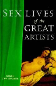 Cover of: Sex lives of the great artists