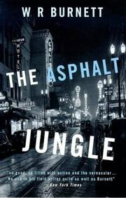 Cover of: The Asphalt Jungle (Film Ink)
