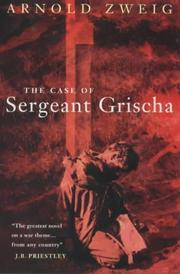 Cover of: The Case of Sergeant Grischa (Lost Treasures)