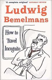 Cover of: How to Travel Incognito