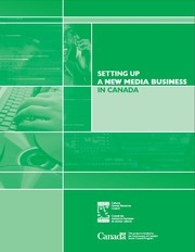 Cover of: Start-Up: Setting Up a New Media Business in Canada |