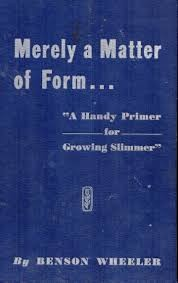 Cover of: Merely a matter of form | Benson Wheeler