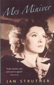Cover of: Mrs. Miniver