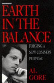 Cover of: Earth in the Balance