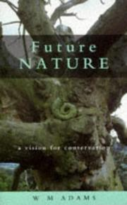 Cover of: Future nature