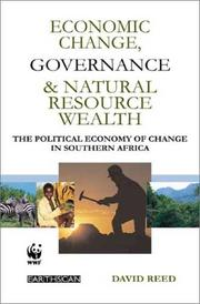 Cover of: Economic Change, Governance and Natural Resource Wealth