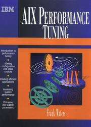 Cover of: AIX Performance Tuning Guide | Frank Waters