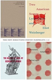 Cover of: Poetry Pamphlets 1-4