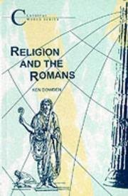 Cover of: Religion and the Romans