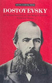 Cover of: Dostoyevsky