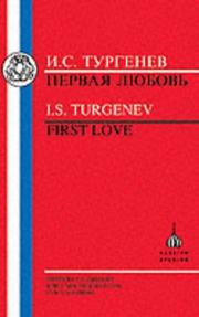 Cover of: Turgenev
