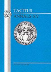 Cover of: Tacitus