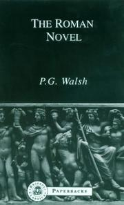 Cover of: The Roman Novel | P.G. Walsh