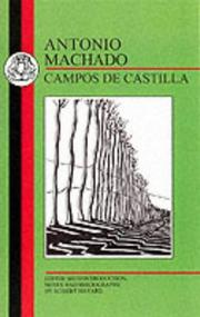 Cover of: Campos de Castilla