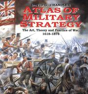 Cover of: Atlas Of Military Strategy | David Chandler