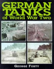 Cover of: German Tanks of World War II