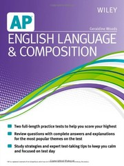 Cover of: Wiley AP English Language and Composition