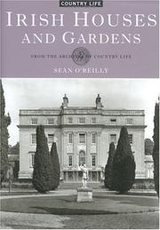 Cover of: Irish houses and gardens