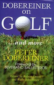 Cover of: Dobereiner on Golf