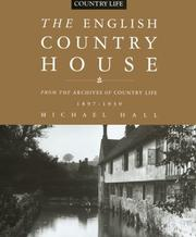 Cover of: The English Country House