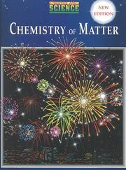 Cover of: Chemistry of Matter