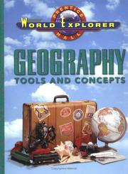 Cover of: Geography Tools & Concepts (World Explorer Series) | Heidi Hayes Jacobs
