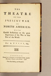 The theatre of the present war in North America