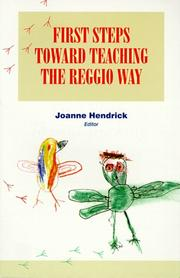Cover of: First Steps Toward Teaching the Reggio Way