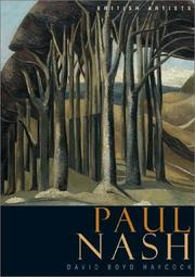 Cover of: Paul Nash | David Boyd Haycock