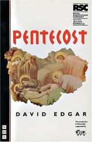 Cover of: Pentecost: The Rsc/Allied Domecq Young Vic Season: First Performed at the Other Place, Stratford-Upon-Avon, 12 October 1994 (NHB International Collection)